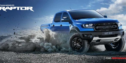 New Ford Ranger Raptor 2.0L Twin Turbo Diesel 10 Speed Auto 4X4