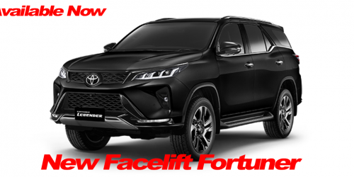 2020 Fortuner Facelifted - Out Now!