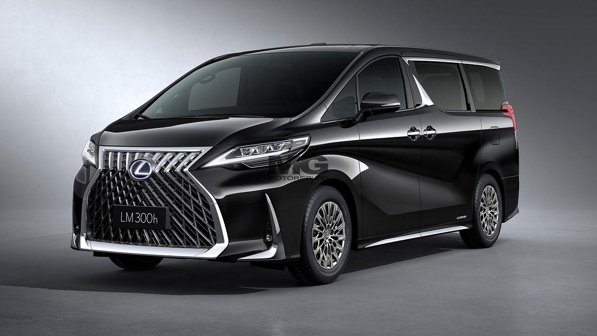 2021 Lexus LM300h 2.5L Hybrid 4 Seat VIP CVT 6AT - SAL Export